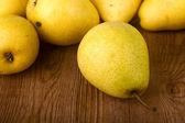 Peras amarillas — Foto de Stock