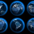 Earth Globes — Stock Photo #8079605