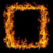 Yangın çerçeve — Stok fotoğraf