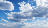 Cloud in sky — Stock Photo