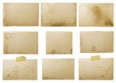 Staré foto papír — Stock fotografie