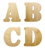 Letter of wooden — Stock Photo