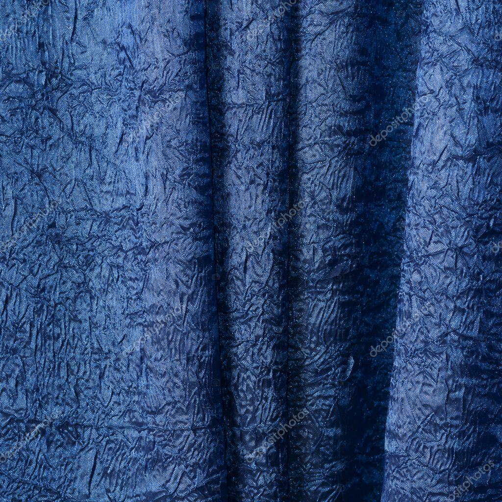 Close up of blue textured cloth — Stock Photo #8080284
