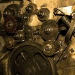 Old gears — Stock Photo #8136864