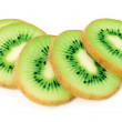 Kiwi fruit slice - Stock fotografie