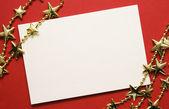 Greeting card — Stock Photo