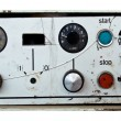 The old control panel - Stock Photo