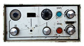 The old control panel — Stock Photo