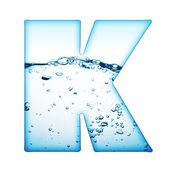 Brief van water — Stockfoto