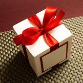 Geschenkkarton — Stockfoto