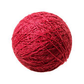 Red ball of yarn — Stock Photo