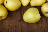 Yellow pear — Stock Photo