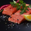 Salmon fillet — Stock Photo #9677931