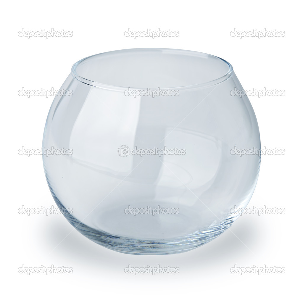 Fish bowl isolated on white — Stock Photo #9926933