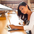 Asian student studying — Stock Photo #8803265