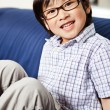 Cute asian boy — Stock Photo