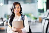 Asijská studentka — Stock fotografie