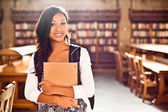 Asian college student — Foto Stock