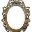 Stock Photo: Oval frame