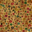 Vintage floral paper background — Stock Photo