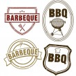 BBQ Stamping — Stock Vector #10071662