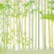 Bamboo forest — Stock Vector