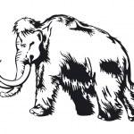 Mammoth — Stock Vector