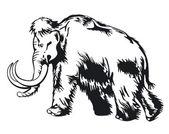 Mammoth — Wektor stockowy