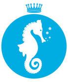 Sea horse — Stock Vector