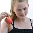 Want an apple — Stock Photo