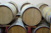 Oak barrels — Stock Photo