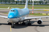 Boeing 747-400 — 图库照片