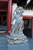Guardian of the Buddha Tooth Relic Temple — Stock Photo