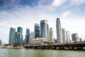 The Singapore Skyline — Stock Photo