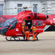London's Air Ambulance Helicopter team — Stock Photo