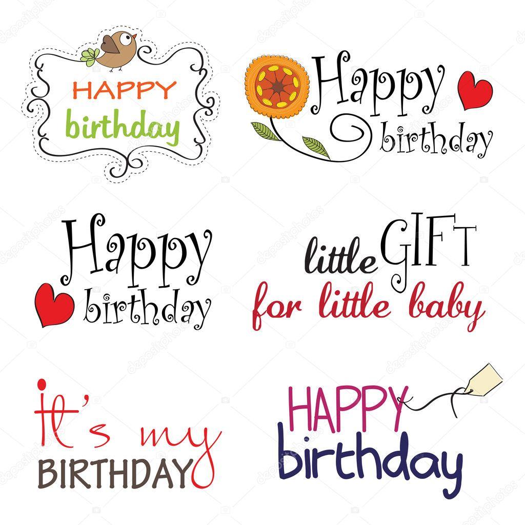 Короткая фраза в открытку на день рождения