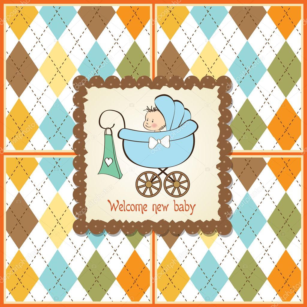 Baby boy arrival card vector by leonart image 600444 vectorstock - Baby Boy Arrival Card Vector By Leonart Image 600444 Wallpaper Greeting Card With Baby Boy Stock Photo Wallpaper Gallery Baby Boy Shower Card With