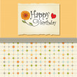 Greeting card template design — Stock Photo #9679614