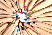Color crayons — Stockfoto