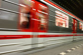 Subway background from the Prague — Stock Photo