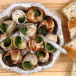 Stock Photo: Snails - french gourmet food