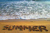 Summer on the beach — Stockfoto