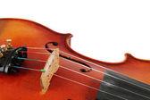 バイオリンの詳細 — ストック写真