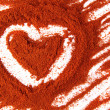 Nice spice heart — Stock Photo