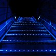 Blue stairs — Stock Photo #9596820