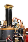 Detail of old steam machine — Stock Photo