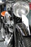 Detail of old motorbike — Stock Photo