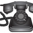 Royalty-Free Stock Vector Image: Classic telephone