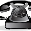 Royalty-Free Stock Vector Image: Old telephone