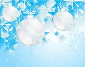 Christmas bauble — Stock Vector